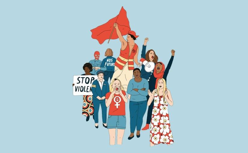 Quand les hommes descendent dans la rue, on parle d'une émeute. Et quand les femmes s'en mêlent, c'est le signe d'unerévolution.