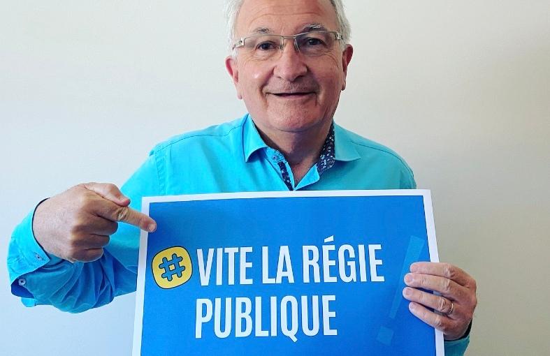 #WorldWaterDay – René REVOL mène campagne pour la régie publique àMontpellier